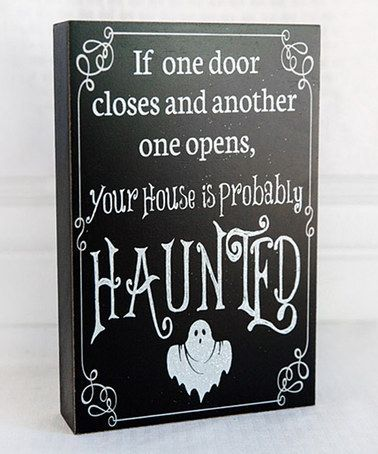 Look What I Found On #zulily! U0027If One Door Closesu0027 Box Sign