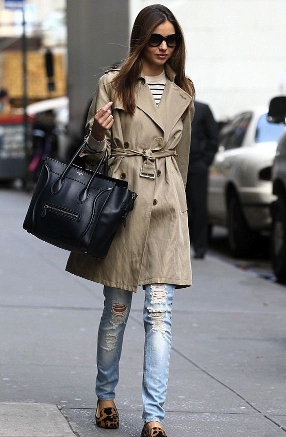 trench - Céline  - stripes --  http://markdsikes.com/2012/12/31/more-in-2013/