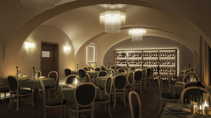 Lamaréda Luxury Restaurant Interior in Hungary Győr
