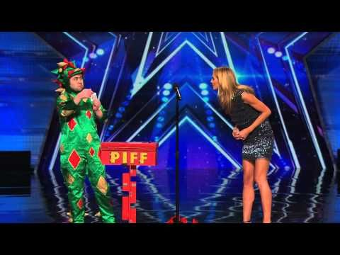 Piff The Magic Dragon - America's Got Talent 2015 Audition