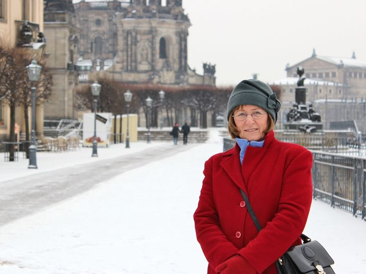 After an overnight snowfall, Dresden, January 5