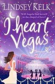 So far, so good. 'I heart vegas' by Lindsey Kelk.
