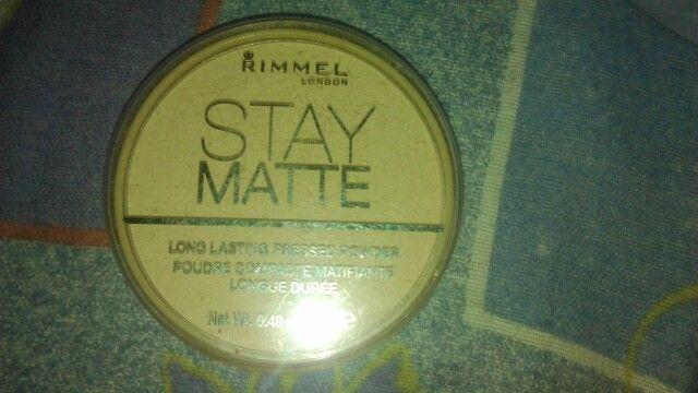 RIMMEL london Stay Matte pudr