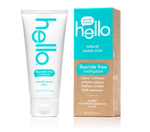 Hello Products Vegan and Cruelty-Free natural toothpaste // sweet mint fluoride free + sls free toothpaste