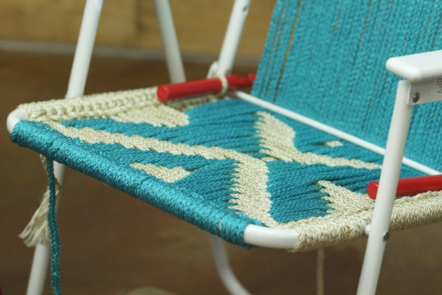 7 Best Macrame Lawn Chairs Images On Pinterest Beach