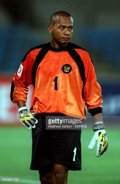 Hendro Kartiko Indonesia goalkeeper
