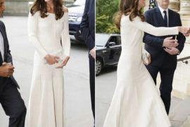 Kate Middleton usa marcas brasileiras da cabeça aos pés