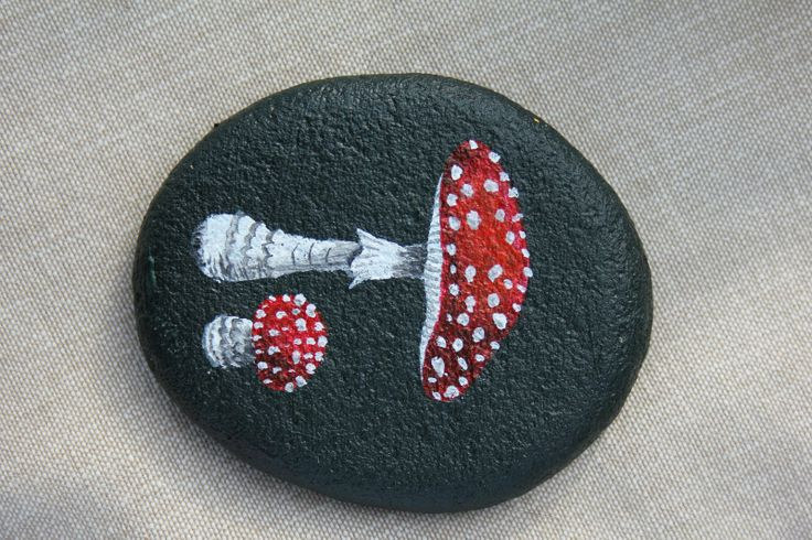 Hand Painted Garden Rocks | hand painted these stones myself. I was inspired by books and the ...