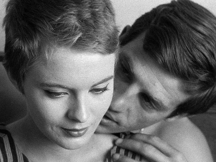 Seberg and Belmondo