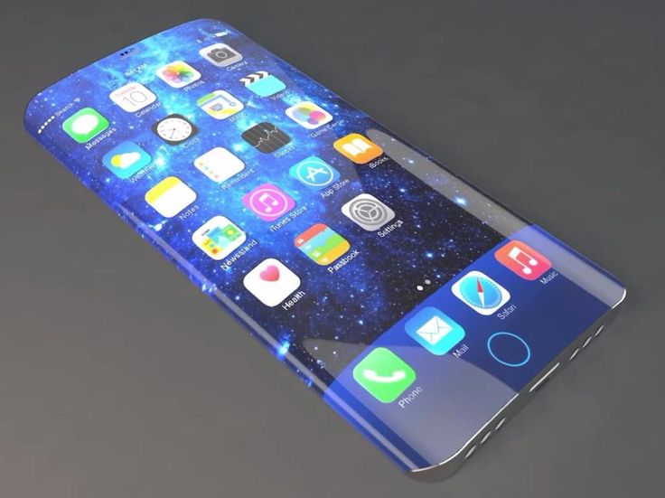 iPhone 7 Concept Curved Display