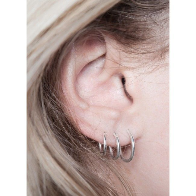 small hoop earrings for second fashionology tiny hoop earrings 10mm p i e r c i n g 9445