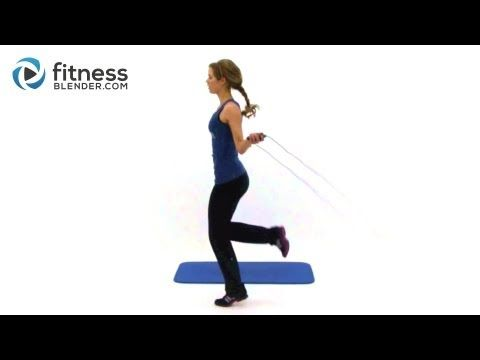 Jump Rope Weight Loss Routine - 20 Minute Home Cardio Workout