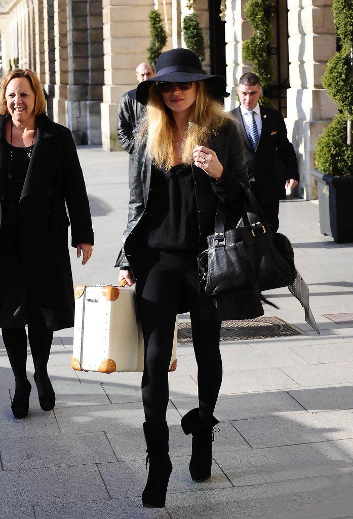 All black in Paris.