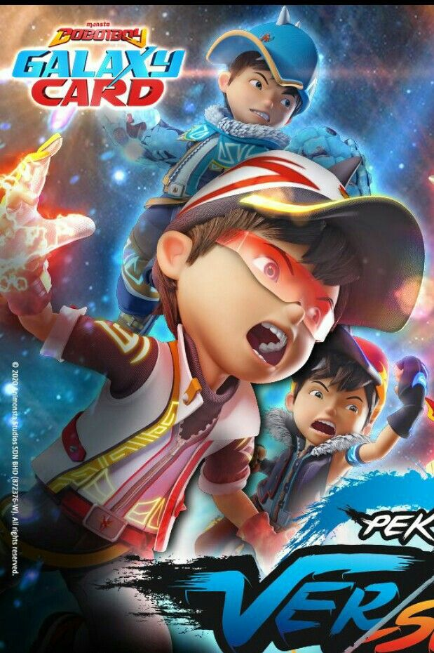 Boboiboy Movie 2 Animasi Film Anak Film Petualangan