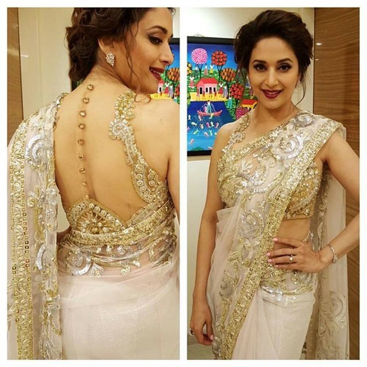 Madhuri Dixit hot in saree