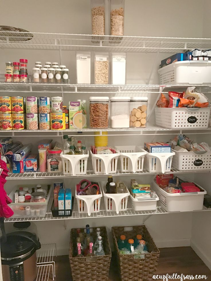 Organize A 6 Month Capsule Wardrobe For Fall And Winter: Best 25+ Organize Food Pantry Ideas On Pinterest