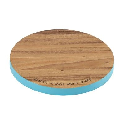 Kate Spade New York® Wooden Round Cutting Board #katespade #giftsforgrads
