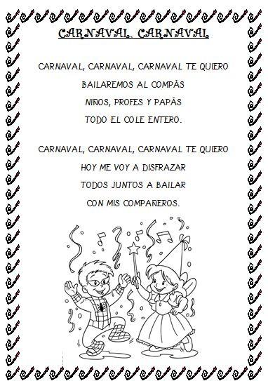 Plastificando ilusiones: Canción Carnaval, Carnaval
