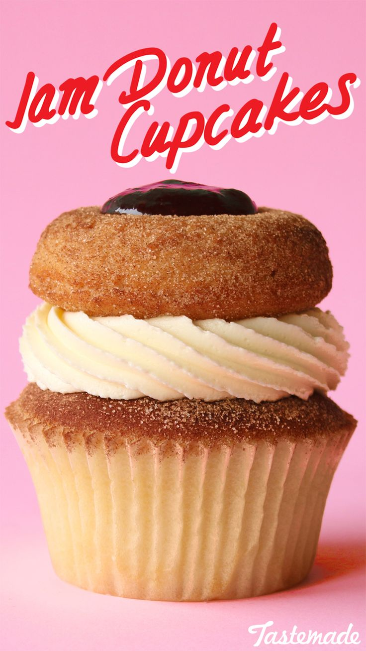 Why settle for a donut or a cupcake when you can have both?