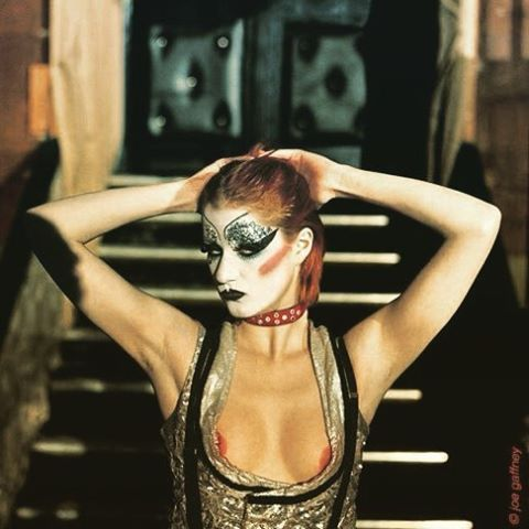 Little Nell in the original Rocky Horror Picture Show stage production, 1973…