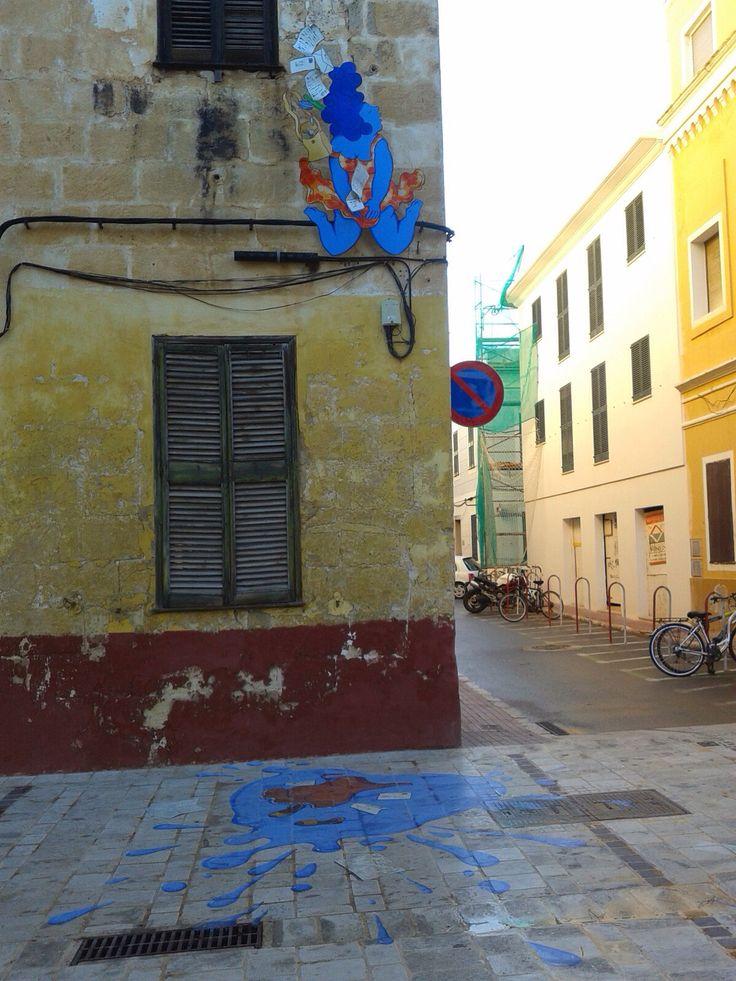 Decoración calles Ciutadella verano 2013. Autor Marc Jesús