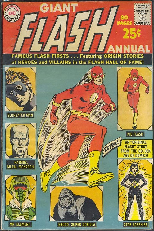 COMICflashannual #comic #cover #art