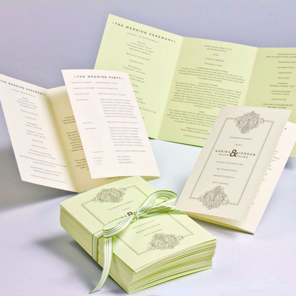 Complete Guide To Wedding Programs