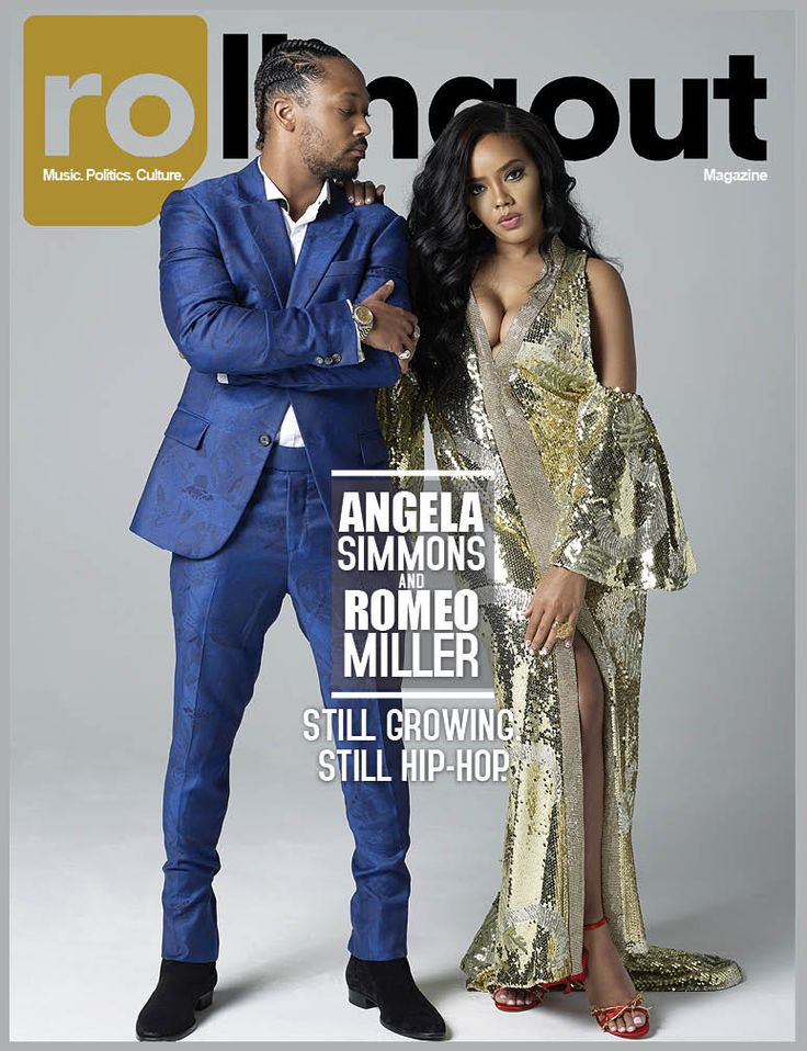 Angela Simmons and Romeo Miller: Still growing. Still hip-hop. - Rolling Out