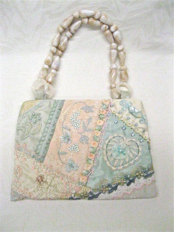 Purse Crazy Quilt Handbag