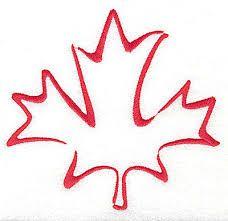 Image result for maple leaf outline tattoo