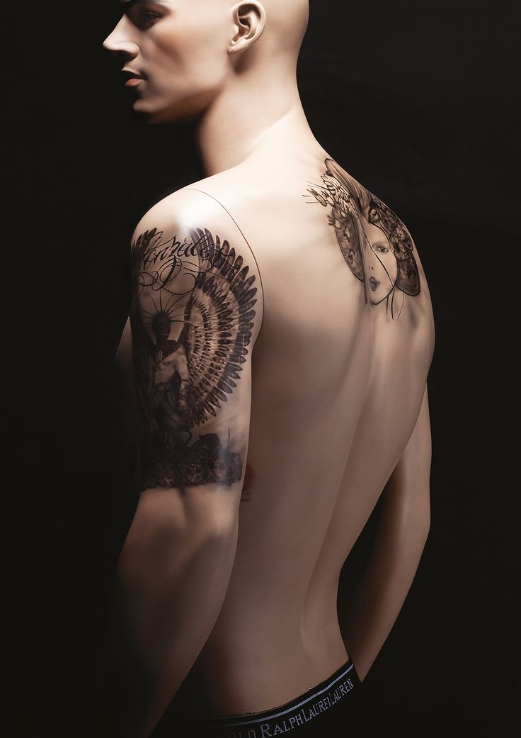 TATTOO #body #realistic #tattoo #harleydavidson