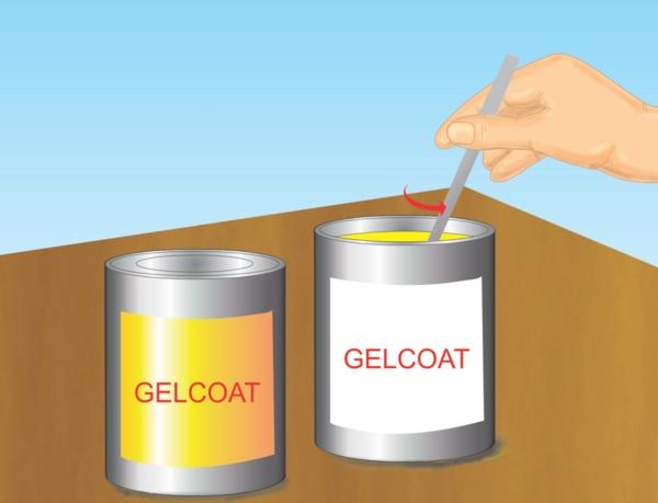 how to clean fiberglass gelcoat