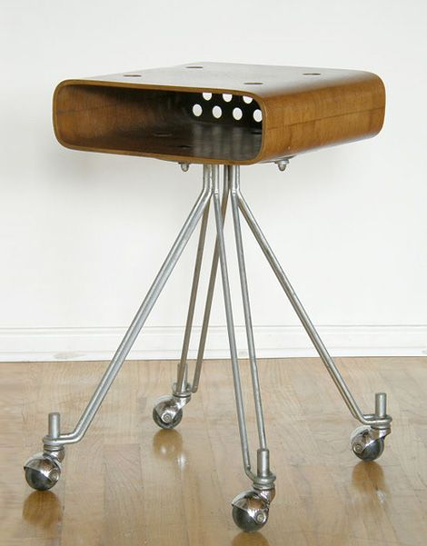 Elliot Noyes Table c. Originally designed as an equipment stand by Noyes for I. this makes a great occasional table or phone stand.