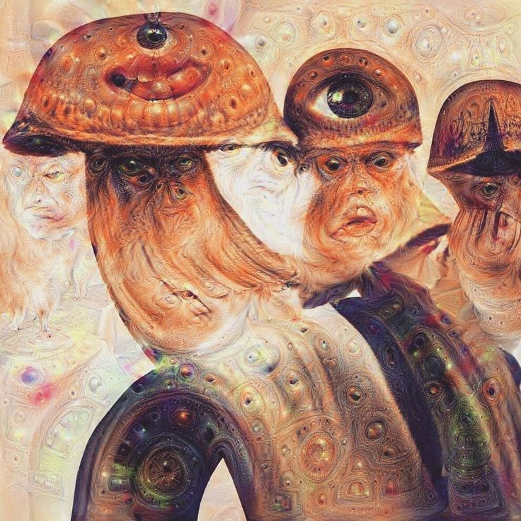 You'd think I would have messed around with #deepdream by now but I kept forgetting to play with it until now. Wild. #mushroom #lsd #creepy #Psychonaut #badtrip #spore #goldenteacher by psychonautdivision
