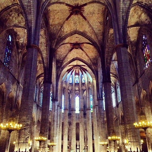 Basílica De Santa Maria Del Mar - Barcelona, Spain