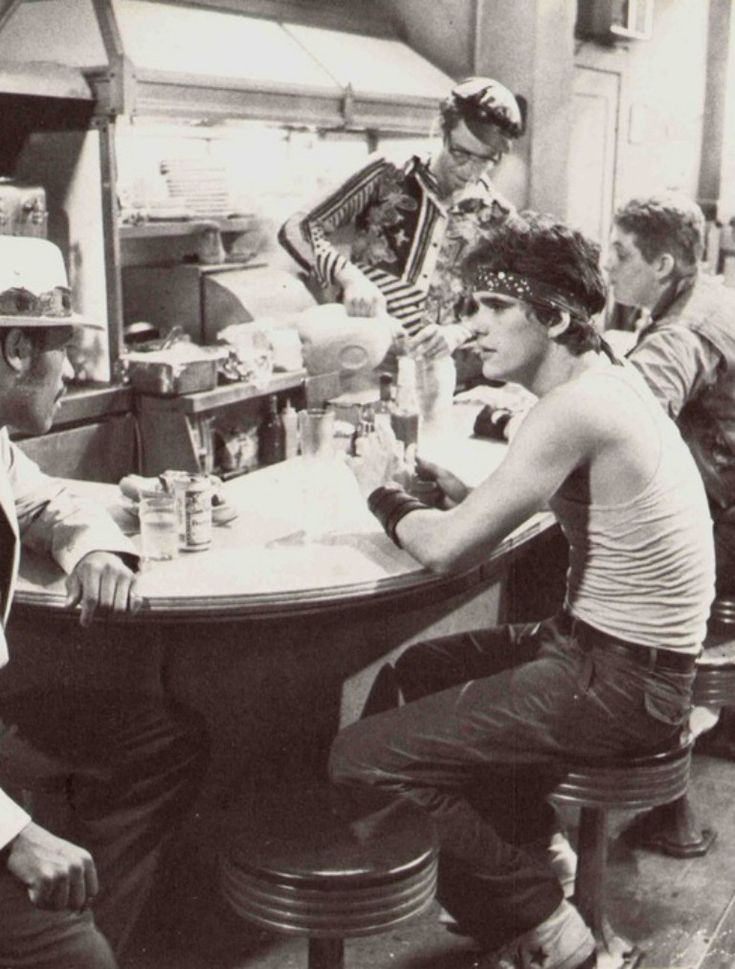 an essay on rusty james and motorcycle boy Rumble fish (1983) quotes showing all 24 items rusty james: no the motorcycle boy: california got in the way rusty james: california got in the way i thought california was on the coast 1 of 1 found this interesting interesting.