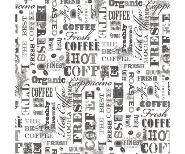 Caffè Bianco e Nero | Carta da parati per cucina | Cucine ...
