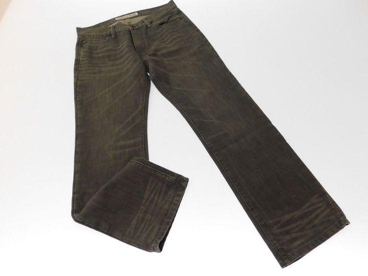 Express Mens Jeans Pants Size 33X32 Dark Gray Denim Casual Outer Wear #Express #Pants