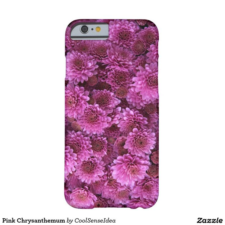 Pink Chrysanthemum Barely There iPhone 6 Case
