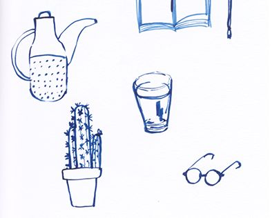 """Check out new work on my @Behance portfolio: """"Blue Drawings"""" http://on.be.net/1LRDDp2"""