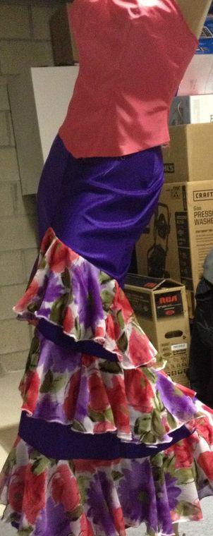 Flamenco skirt (Halloween?)