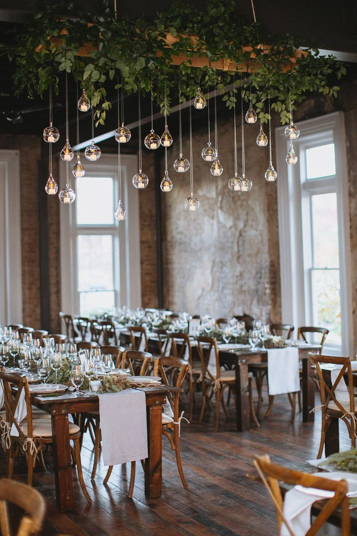 Hanging Candles // Nashville Wedding Florist