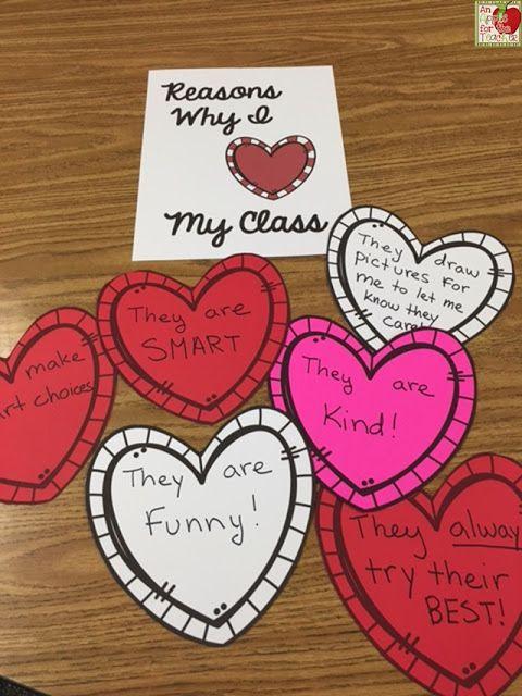 An Apple For The Teacher: Reasons Why I Love My Class - Freebie!