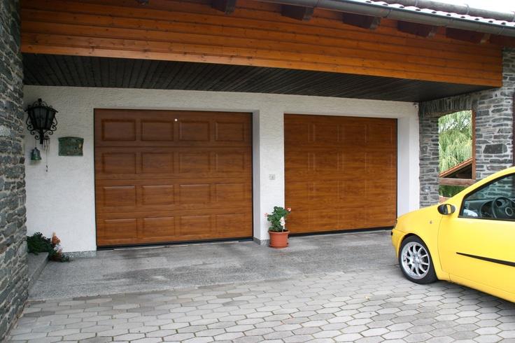 Portone sezionale VENUS by Breda e FIAT Punto Sporting - VENUS Garage Door bi Breda & FIAT Punto Sporting #BredaLoveCars #portoni #sezionali #garage #doors #breda #Fiat