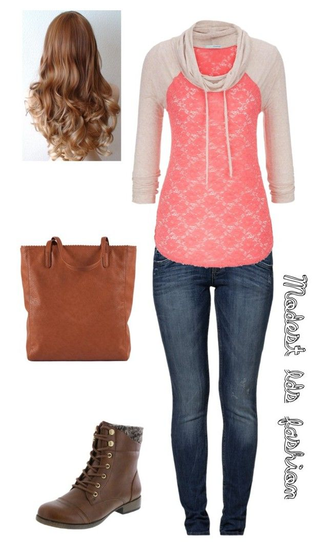 """Modest_lds_fashion"" by modest-mormon-fashion ❤ liked on Polyvore featuring s.Oliver and maurices"