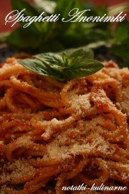 Włochy: Spaghetti Anonimki