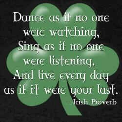 St. Patrick's Day- Irish Blessing
