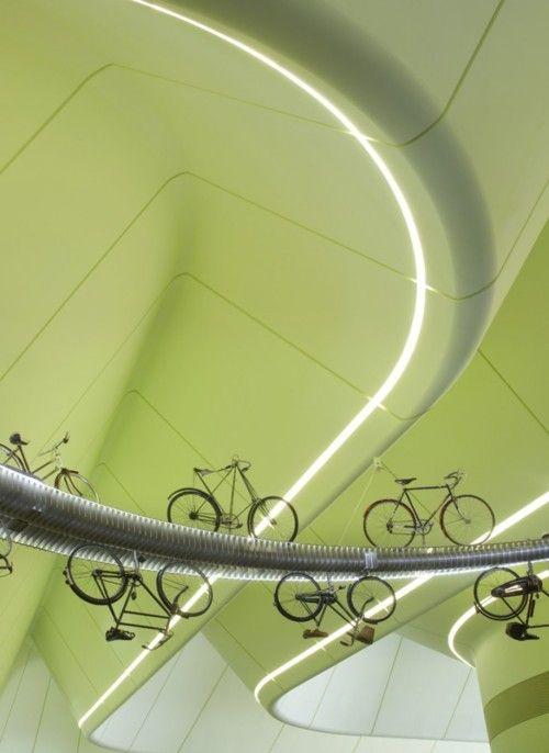 Riverside Museum(Glasgow Scotland) byZaha Hadid Architects