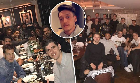Spotted: Mesut Ozil shopping in Sweden as Arsenal and Chelsea squads enjoy team meals out   via Arsenal FC - Latest news gossip and videos http://ift.tt/2joZ9cY  Arsenal FC - Latest news gossip and videos IFTTT