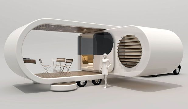Romotow - great camper concept from NZ